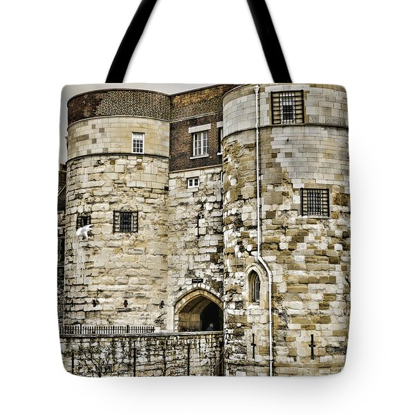 Byward Tower Tote Bag by Heather Applegate