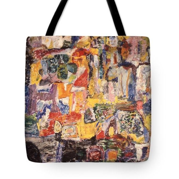 Byzantine Characters #1 Tote Bag by Richard Baron