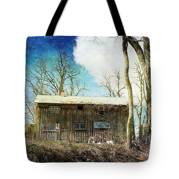 Cabin Fever Tote Bag by A New Focus Photography