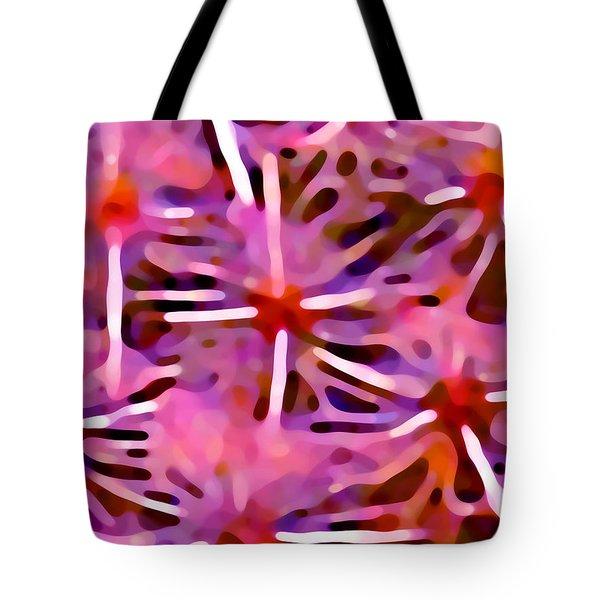 Cactus Pattern 3 Pink Tote Bag by Amy Vangsgard