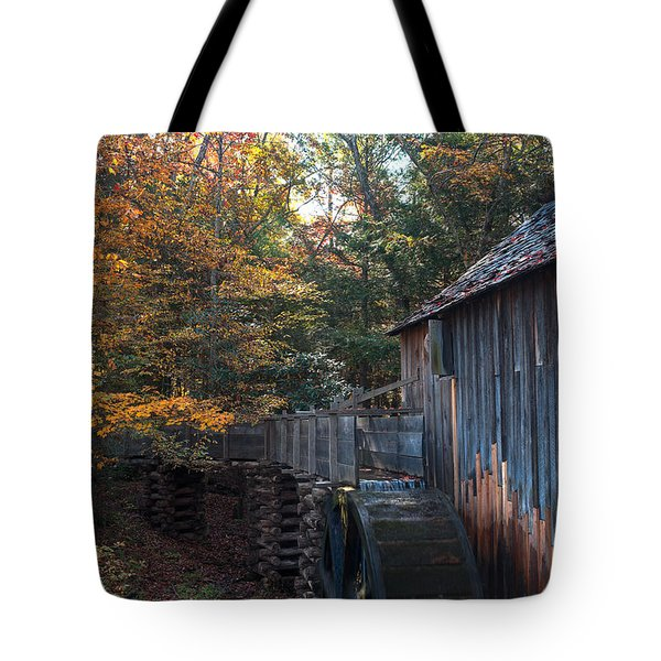 Cades Cove Mill Tote Bag by Steve Gadomski