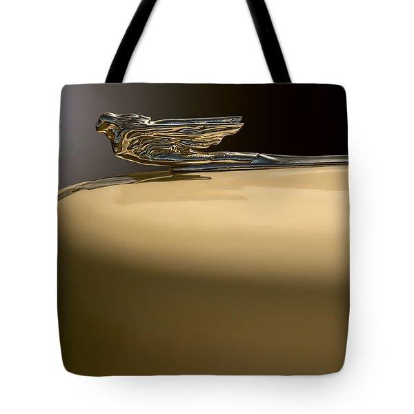 Cadillac Flare Tote Bag by Kurt Golgart