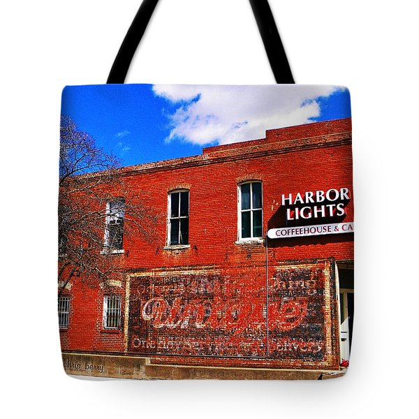 Cafe Tote Bag by Chris Berry