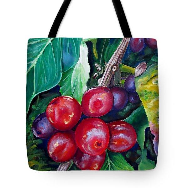 Cafe Costa Rica Tote Bag by Carol Allen Anfinsen