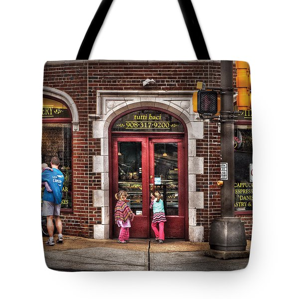 Cafe - The Italian Bakery Tote Bag by Mike Savad