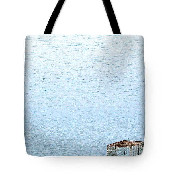 Caged Expanse Tote Bag by Justin Woodhouse