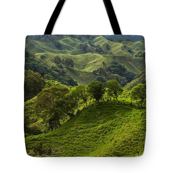 Caizan Hills Tote Bag by Heiko Koehrer-Wagner