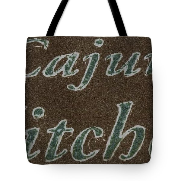 Cajun Kitchen Tote Bag by Joseph Baril