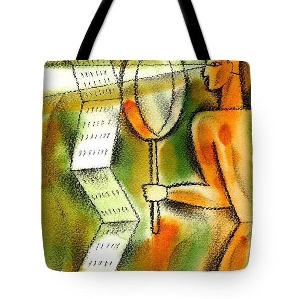 Calculation Tote Bag by Leon Zernitsky