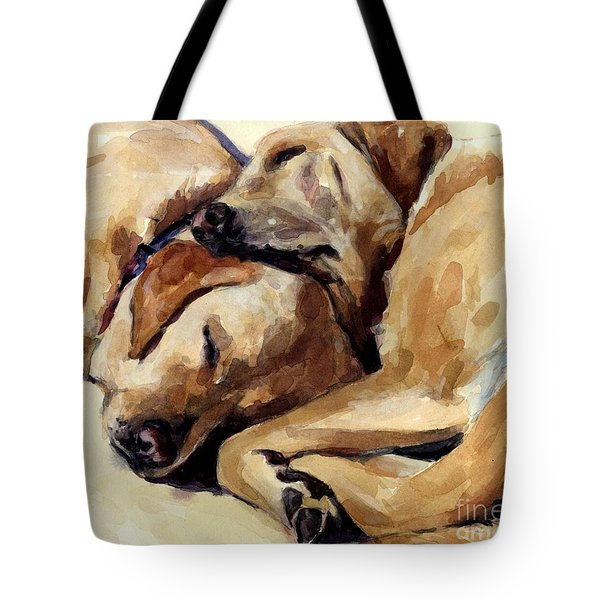 California Dreamers Tote Bag by Molly Poole