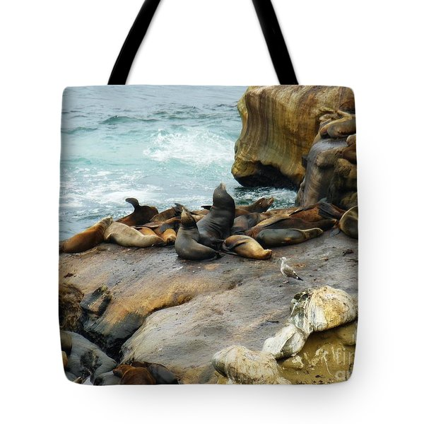California Dreaming Tote Bag by Mary Machare