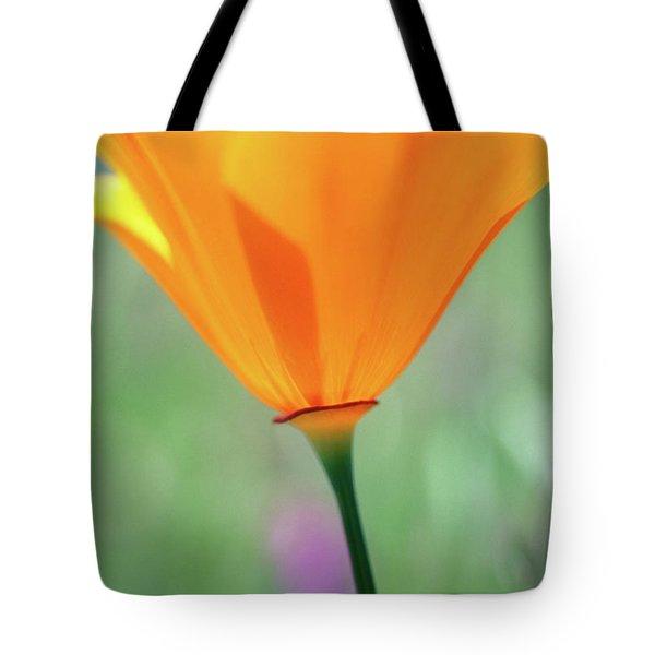 California Poppy Tote Bag by Kathy Yates