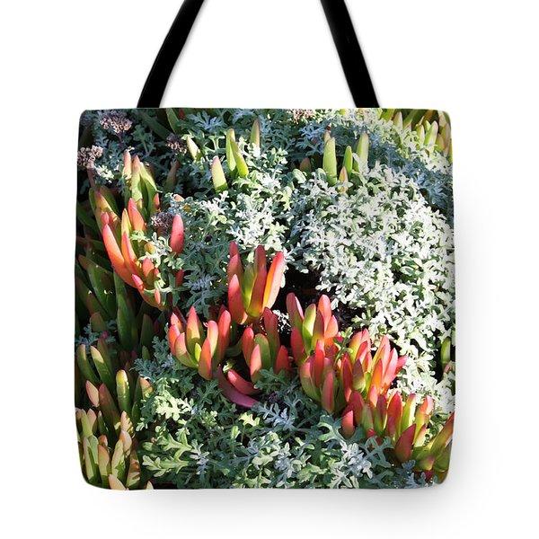 California Seaside Garden Tote Bag by Carol Groenen
