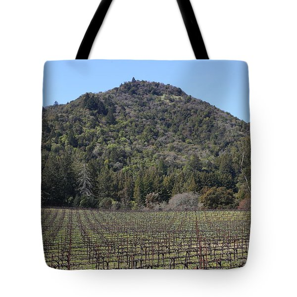 California Vineyards In Late Winter Just Before The Bloom 5D22142 Tote Bag by Wingsdomain Art and Photography