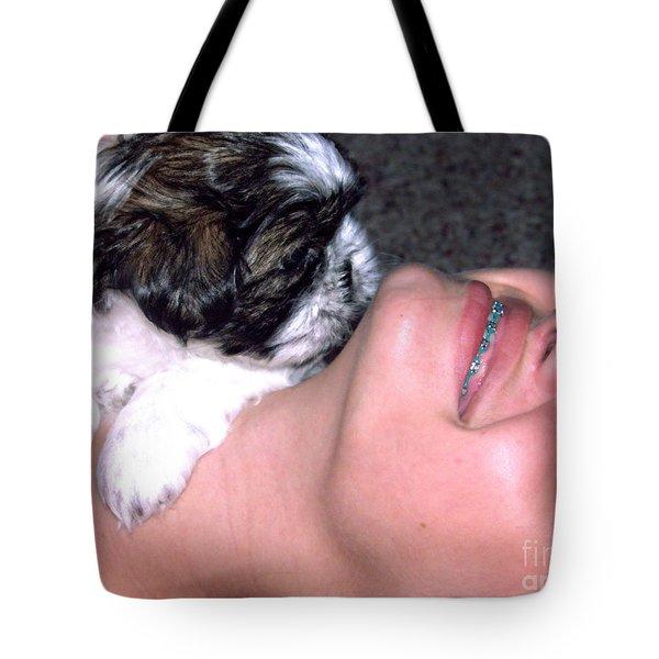 Call It Puppy Love Tote Bag by Ella Kaye Dickey