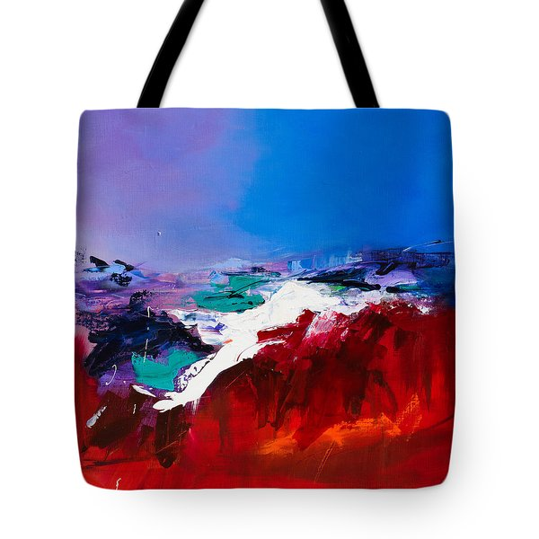 Call Of The Canyon Tote Bag by Elise Palmigiani