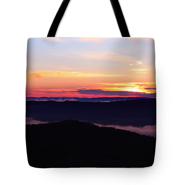 Call Of The Mountains Tote Bag by Rachel Cohen