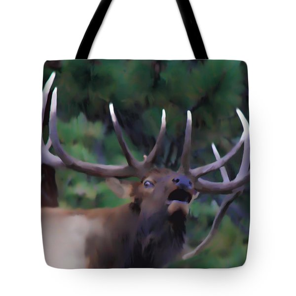 Call of the Wild Tote Bag by Shane Bechler
