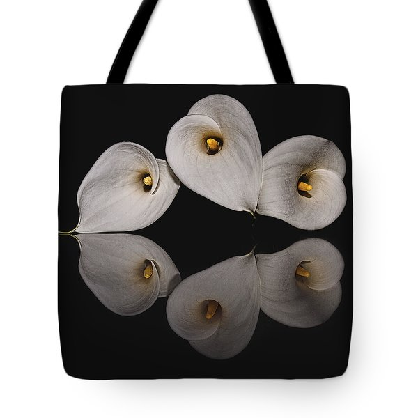 Calla Circle D4423 Tote Bag by Wes and Dotty Weber