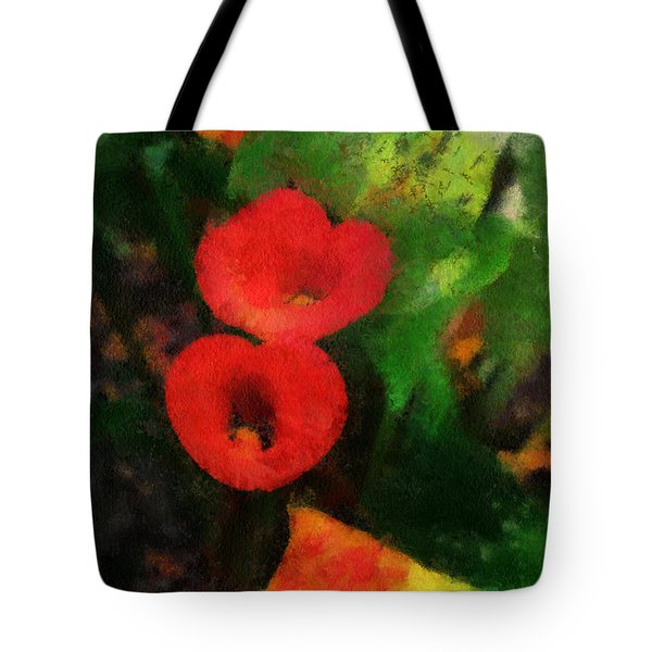 Calla Lilies Photo Art 03 Tote Bag by Thomas Woolworth