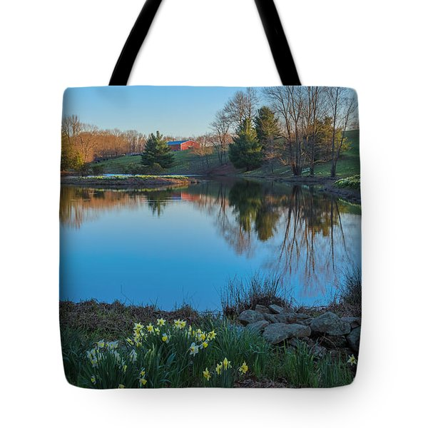 Calm Evening Tote Bag by Bill  Wakeley