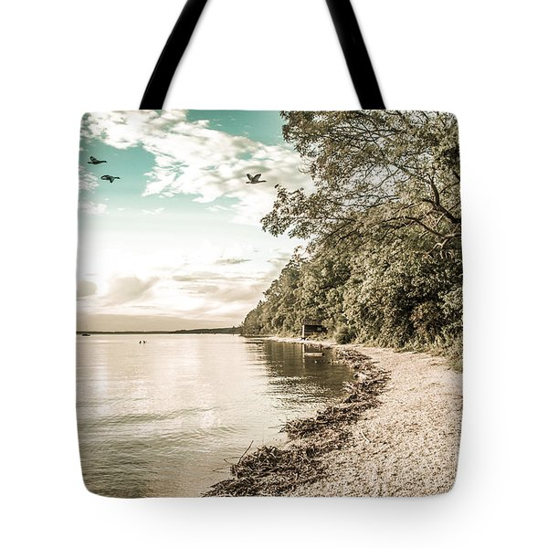Calm Lake - Future Tote Bag by Hannes Cmarits