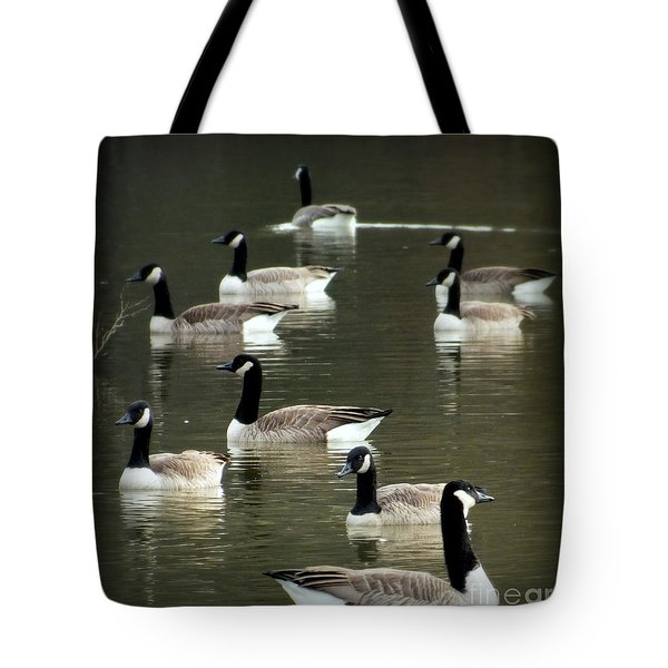 Calm Waters Tote Bag by Karen Wiles