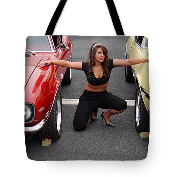 Camaro Envy Tote Bag by Mark Spearman