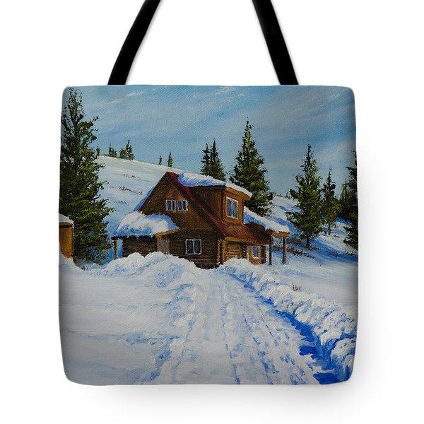 Cambridge Cabin Tote Bag by C Steele