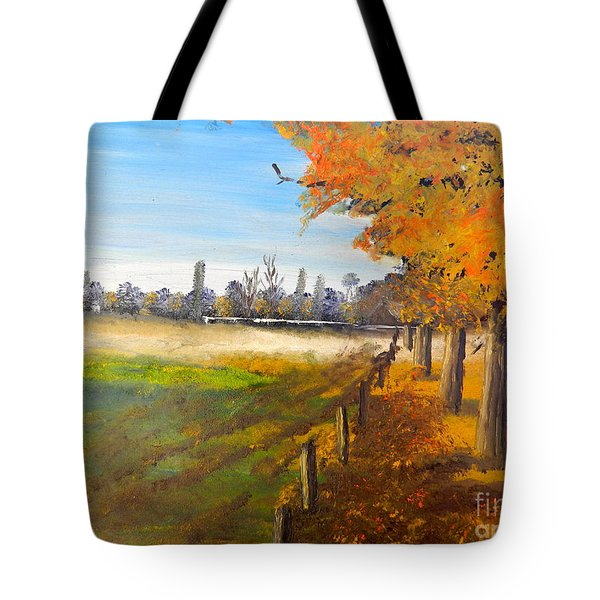 Camden Farm Tote Bag by Pamela  Meredith