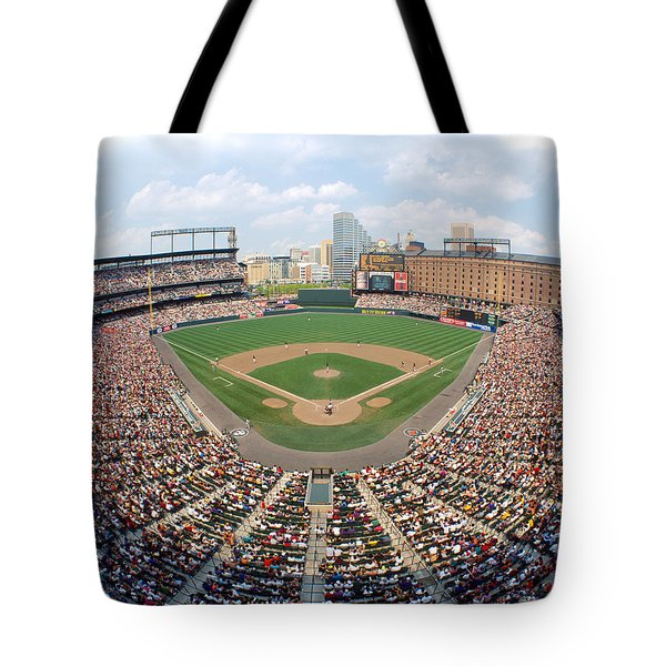 Camden Yards Baltimore Md Tote Bag by Panoramic Images