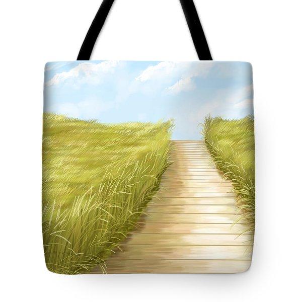 Cammino Tote Bag by Veronica Minozzi