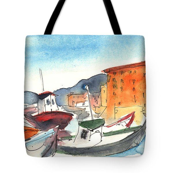 Camogli In Italy 02 Tote Bag by Miki De Goodaboom
