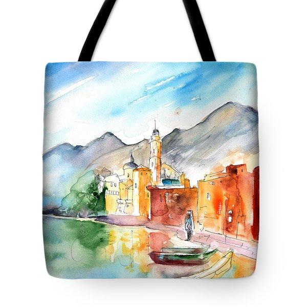 Camogli In Italy 11 Tote Bag by Miki De Goodaboom