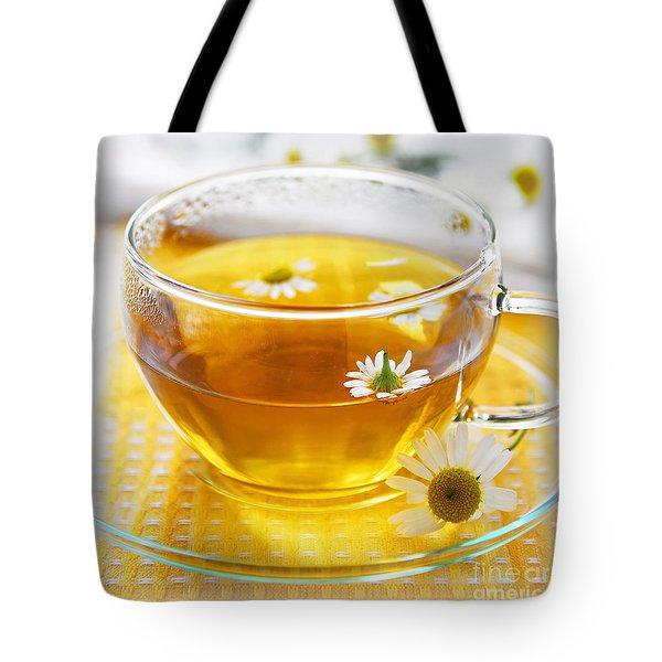 Camomile tea Tote Bag by Elena Elisseeva