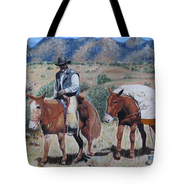 Camping Tote Bag by Kume Bryant