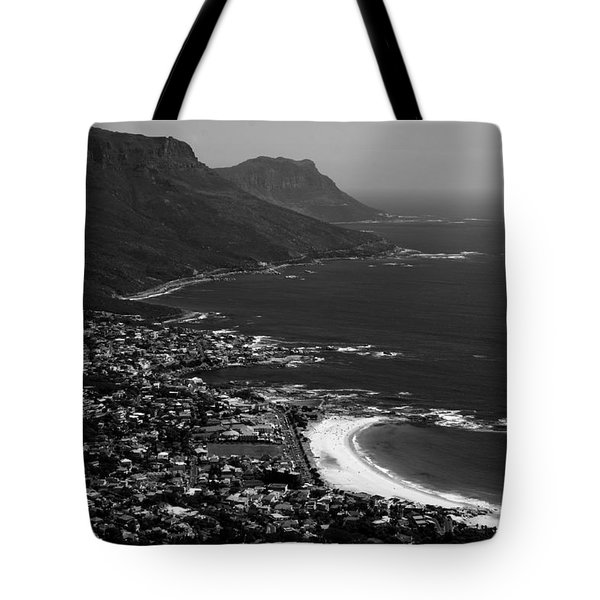 Camps Bay Cape Town Tote Bag by Aidan Moran