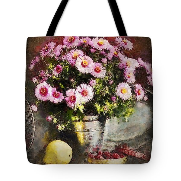 Can Of Raspberries Tote Bag by Mo T