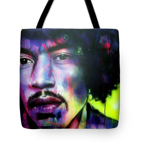 'Can You Hear Me' Tote Bag by Christian Chapman Art