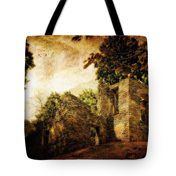 Can You Hear Them Tote Bag by Lois Bryan