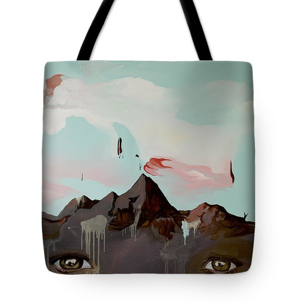 Can You See The Skull Tote Bag by Joseph Demaree