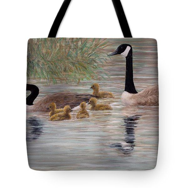 Canada Goose Family Tote Bag by Kathleen McDermott