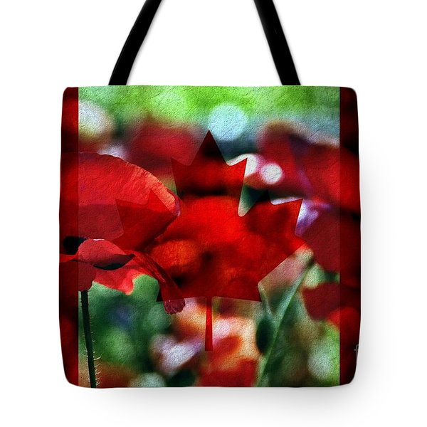Canadian Eh Tote Bag by Andrea Kollo