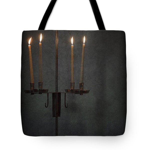 Candles In The Dark Tote Bag by Margie Hurwich