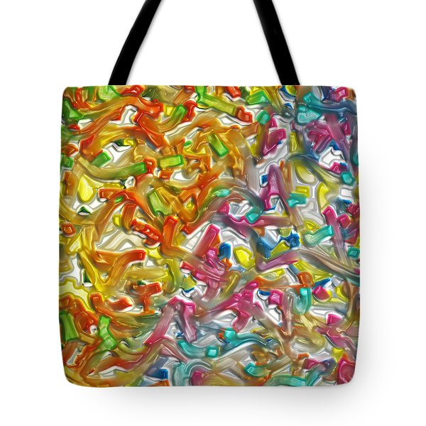 Candy Factory Tote Bag by Alec Drake