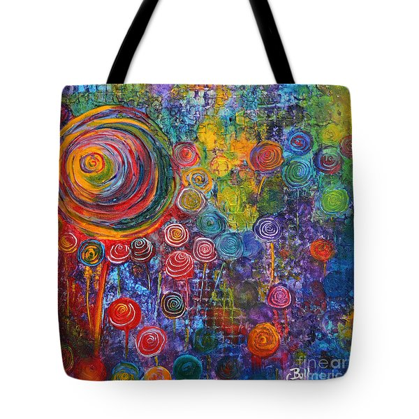 Candyland Tote Bag by Claire Bull