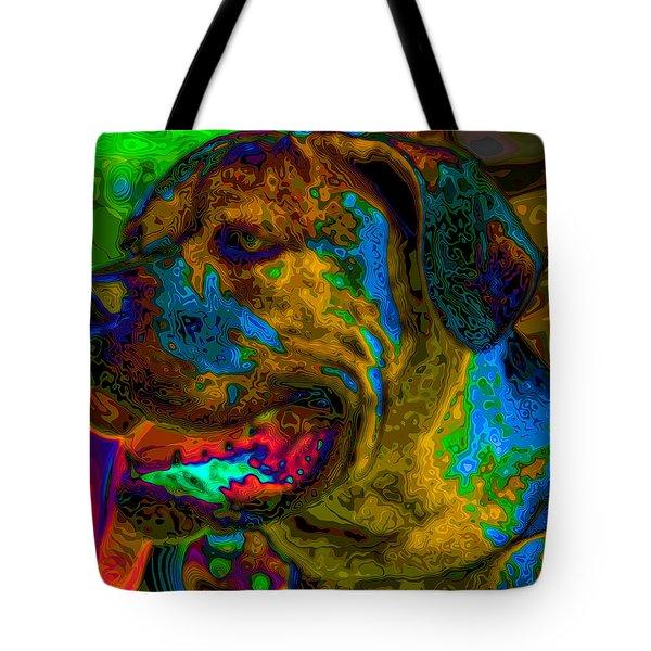 Cane Corso Pop Art Tote Bag by Eti Reid