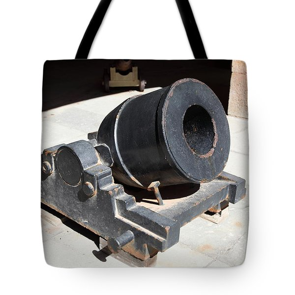 Cannon At San Francisco Fort Point 5d21489 Tote Bag by Wingsdomain Art and Photography