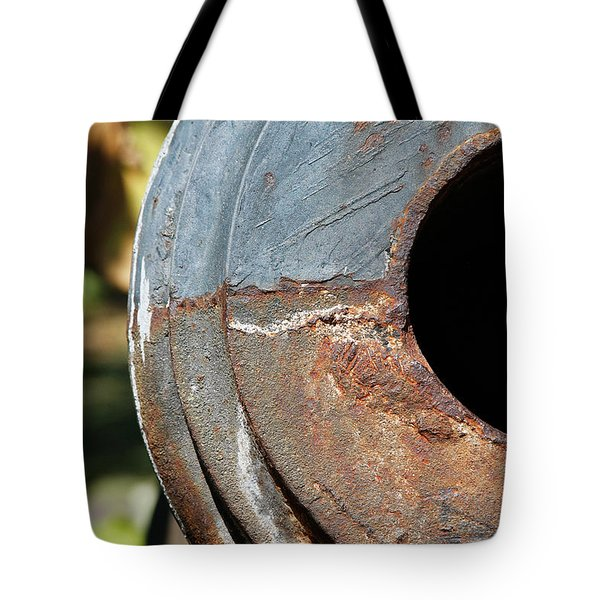 Cannon Barrel Fountain Of Youth Tote Bag by Christine Till