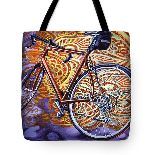 Cannondale Tote Bag by Mark Howard Jones